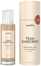 Parfums et Produits cosmétiques Crème à l'huile de coton pour visage - Resibo Team Sunscreen Moisturizing Cream SPF 30