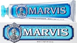 Parfums et Produits cosmétiques Dentifrice au xylitol et menthe marine - Marvis Aquatic Mint + Xylitol