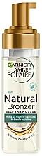 Parfums et Produits cosmétiques Mousse autobronzante à l'eau de coco pour corps - Garnier Ambre Solaire Natural Bronzer Intense Clear Self Tan Mousse