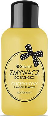 Dissolvant à la glycérine et huile de lin pour les ongles - Silcare
