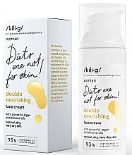 Parfums et Produits cosmétiques Crème à l'huile d'amande et argan pour visage - Kili·g Woman Double Nourishing Cream