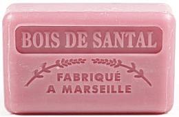 Parfums et Produits cosmétiques Savon végétal de Marseille, Bois de santal - Foufour Savonnette Marseillaise