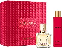 Parfums et Produits cosmétiques Valentino Voce Viva - Coffret (eau de parfum/50ml + lait corporel/100ml)