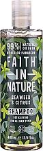Parfums et Produits cosmétiques Shampooing Algues et agrumes - Faith In Nature Seaweed & Citrus Shampoo
