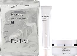 Parfums et Produits cosmétiques ForLLe'd Platinum - Coffret (crème pour visage/50g + crème contour des yeux/9g + masque pour visage/2pcs)