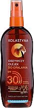 Parfums et Produits cosmétiques Huile solaire en spray waterproof de bronzage SPF30 - Kolastyna