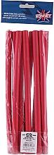 Parfums et Produits cosmétiques Bigoudis flexibles, 12/240, rouge - Ronney Professional Flex Rollers