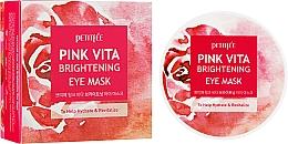 Parfums et Produits cosmétiques Masque à l'extrait de rose pour contour des yeux - Petitfee&Koelf Pink Vita Brightening Eye Mask