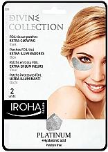 Parfums et Produits cosmétiques Patchs pour contour des yeux - Iroha Nature Platinum Patches Extra Glowing Eyes