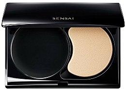 Parfums et Produits cosmétiques Palette vide, noire avec éponge de maquillage - Kanebo Sensai Compact Case For Total Finish
