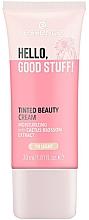 Parfums et Produits cosmétiques Crème teintée à l'extrait de cactus pour visage - Essence Hello Good Stuff! Tinted Beauty Cream