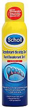 Parfums et Produits cosmétiques Déodorant pour pieds 3 en 1 - Scholl 3in1 Antiperspirant