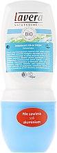 Déodorant roll-on au zinc - Lavera Fresh 24h Deo Roll-On — Photo N1