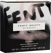 Parfums et Produits cosmétiques Highlighter pour visage 2 nuances - Fenty Beauty Killawatt Freestyle Highlighter