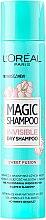 Parfums et Produits cosmétiques Shampooing sec - L'Oreal Paris Magic Shampoo Invisible Dry Shampoo Sweet Fusion