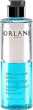 Parfums et Produits cosmétiques Démaquillant bi-phasé pour visage et yeux - Orlane Dual-Phase Makeup Remover Face and Eyes