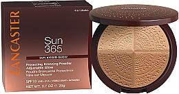Parfums et Produits cosmétiques Poudre bronzante pour visage - Lancaster 365 Sun Protecting Bronzing Face Powder SPF10 Adjustable Glow