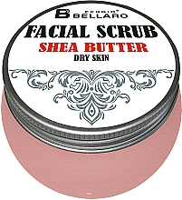 Parfums et Produits cosmétiques Gommage au beurre de karité pour visage - Fergio Bellaro Facial Scrub Shea Butter