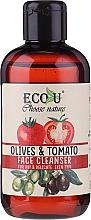 Parfums et Produits cosmétiques Gel nettoyant à l'extrait de tomate et olive pour visage - Eco U Face Cleanser