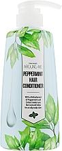 Après-shampoing à l'extrait de menthe - Welcos Around Me Peppermint Hair Conditioner — Photo N1