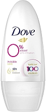 Parfums et Produits cosmétiques Déodorant roll-on sans alcool - Dove Invisible Care Antiperspirant Roll-On