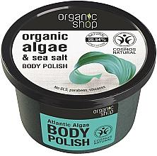 Parfums et Produits cosmétiques Gommage aux algues et sel marin pour corps - Organic Shop Body Scrub Organic Algae & Sea Salt