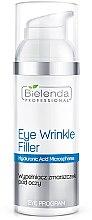 Parfums et Produits cosmétiques Traitement à l'acide hyaluronique pour le contour des yeux - Bielenda Professional Program Eye Wrinkle Filler