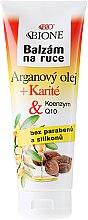 Parfums et Produits cosmétiques Baume à l'huile d'argan et coenzyme Q10 pour mains - Bione Cosmetics Argan Oil Hand Ointment