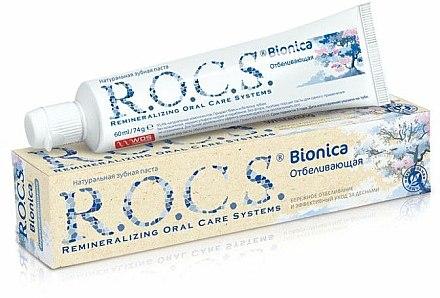 Dentifrice blanchissante - R.O.C.S. Bionica — Photo N1