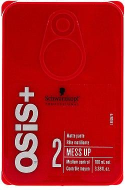 Pâte matifiante - Schwarzkopf Professional Osis+ Mess Up Matt Gum