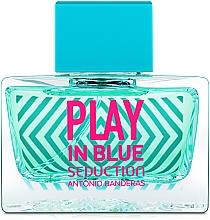 Parfums et Produits cosmétiques Antonio Banderas Play In Blue Seduction - Eau de Toilette
