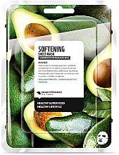 Parfums et Produits cosmétiques Masque tissu adoucissant pour visage , Avocat - Superfood For Skin Softening Sheet Mask
