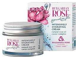 Parfums et Produits cosmétiques Crème de jour à l'huile de rose naturelle et complexe de caviar - Bulgarian Rose Signature Spa Intensively Hydrating Cream