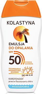 Émulsion solaire waterproof pour corps SPF50 - Kolastyna
