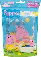 Parfums et Produits cosmétiques Éponge de bain pour enfants , Peppa Pig, La famille de Peppa - Suavipiel Peppa Pig Bath Sponge
