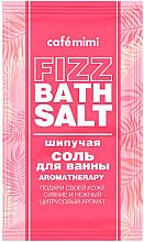 Parfums et Produits cosmétiques Sels de bain effervescents, Aromathérapie - Cafe Mimi Fizz Bath Salt