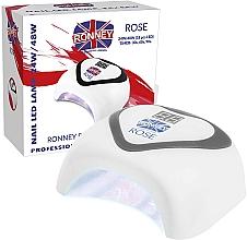 Parfums et Produits cosmétiques Lampe LED, gris - Ronney Profesional Rose LED 24W/48W (GY-LED-035) Lamp