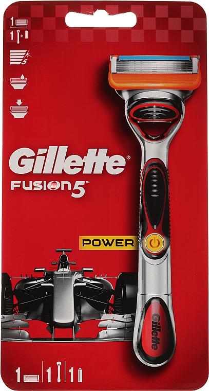 Rasoir électrique avec 1 lame de rechange - Gillette Fusion5 ProGlide Power