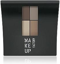 Parfums et Produits cosmétiques Fard à paupières mat - Make Up Factory Mat Eye Colors