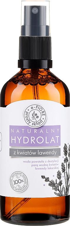 Hydrolat de fleur de lavande - E-Fiore Hydrolat