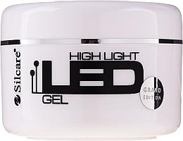 Parfums et Produits cosmétiques Gel de construction des ongles, LED rose - Silcare High Light LED Pink