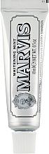 Parfums et Produits cosmétiques Dentifrice blanchissant (mini) - Marvis Whitening Mint Toothpaste