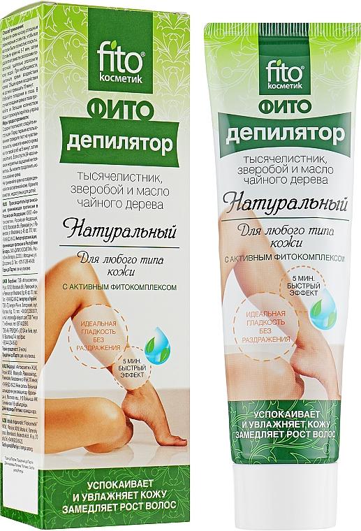 Crème dépilatoire naturel à l'huile d'arbre à thé - Fito Kosmetik — Photo N1