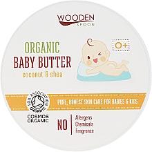 Parfums et Produits cosmétiques Baume bio à l'huile de noix de coco pour corps - Wooden Spoon Organic Baby Butter