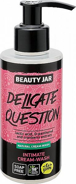 Crème-gel de l'hygiène intime à l'acide lactique - Beauty Jar Delicate Question Intimate Cream-Wash