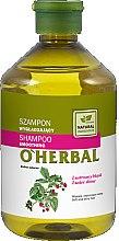 Parfums et Produits cosmétiques Shampooing lissant à l'extrait de framboise effet brillance miroir - O'Herbal Smoothing Shampoo