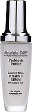 Parfums et Produits cosmétiques Sérum à la vitamine C et acide salicylique pour visage - Absolute Care Prebiotic Beauty Clarifying Vitamin C Serum