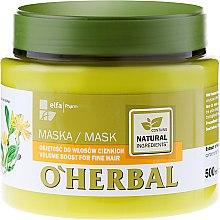 Parfums et Produits cosmétiques Masque à l'extrait d'arnica pour cheveux - O'Herbal