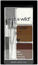 Parfums et Produits cosmétiques Kit maquillage sourcils - Wet N Wild Ultimate Brow Kit