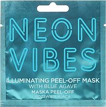 Parfums et Produits cosmétiques Masque peel-off à l'agave bleu pour visage - Marion Neon Vibes Illuminating Peel-Off Mask
